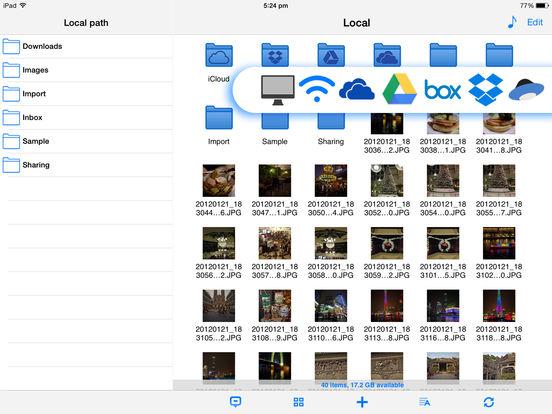Phone Drive - File Manager, Browser & Explorer Screenshot