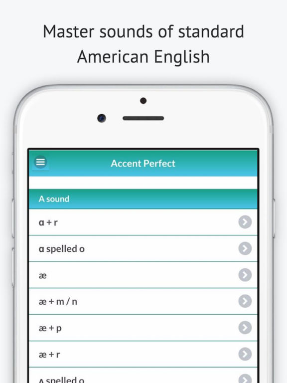 Accent Perfect: American English Pronunciation App Screenshots