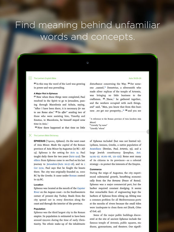 Faithlife Study Bible screenshot