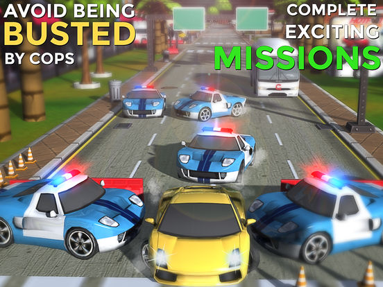 Hotfoot - City Racer screenshot 6