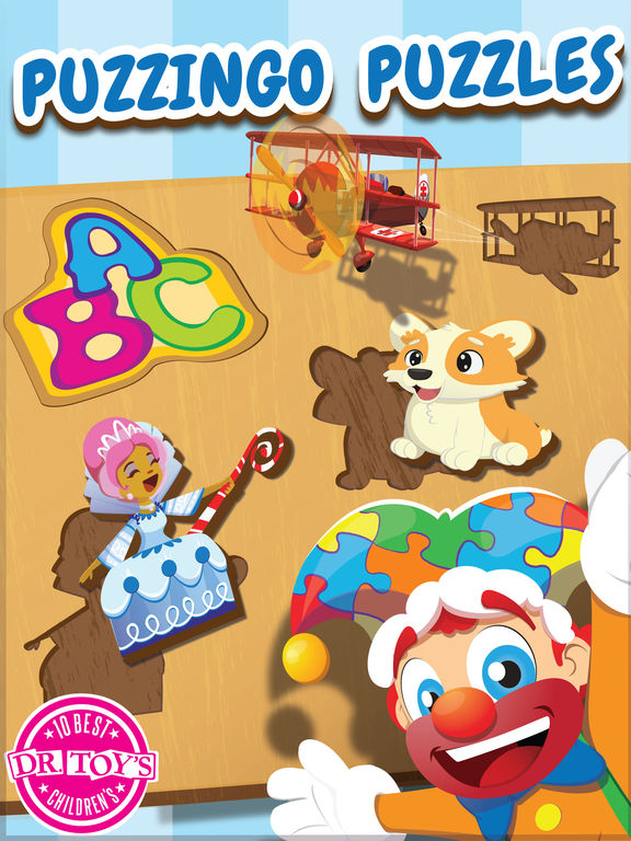 Kids Puzzles Puzzingo - Learning Games for Kids & Toddlers screenshot