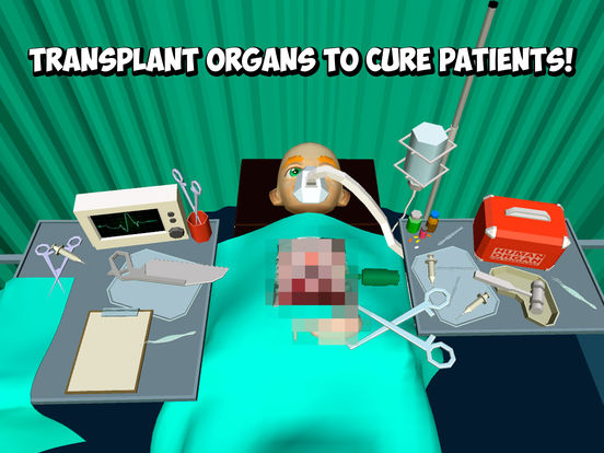 Crazy Doctor: Cartoon Surgery Simulator 3D Full Screenshots