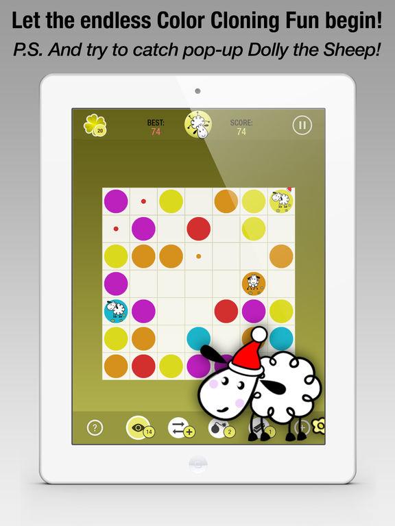Clone Dots - Color Lines Mania на iPad
