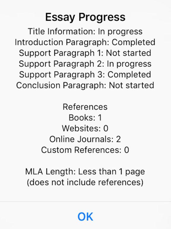 1 page essay