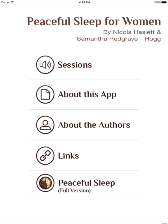 Peaceful Sleep for Women: Ultimate Guided Hypnosis Meditation for Deep Sleeping, Relaxation and Stress Relief screenshot
