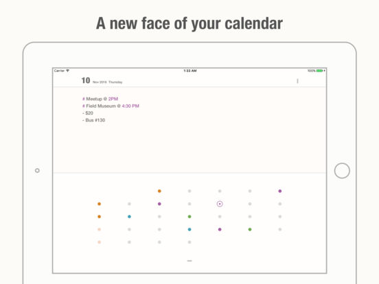 Unlabeled Calendar - A Notepad Scheduler Screenshots