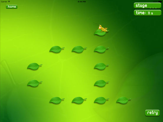 Leaf hopper HD iPad Screenshot 4