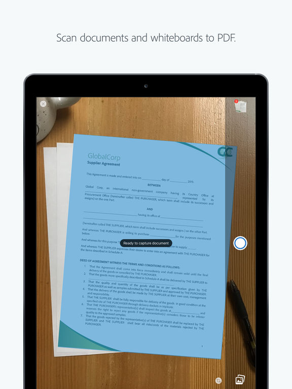 Adobe Acrobat Reader: Annotate, Scan, & Send PDFs Screenshot