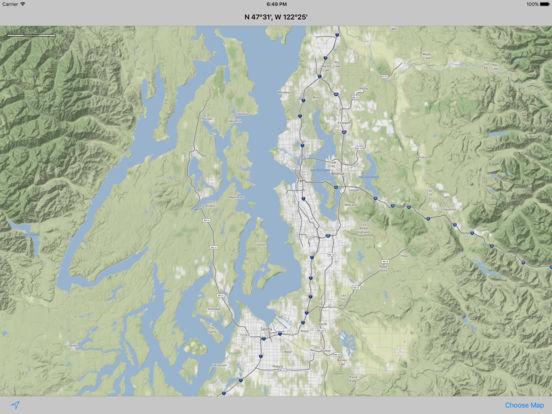 MapTap iPad Screenshot 3
