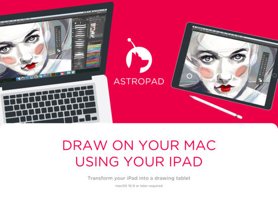 Astropad Drawing Tablet Screenshots