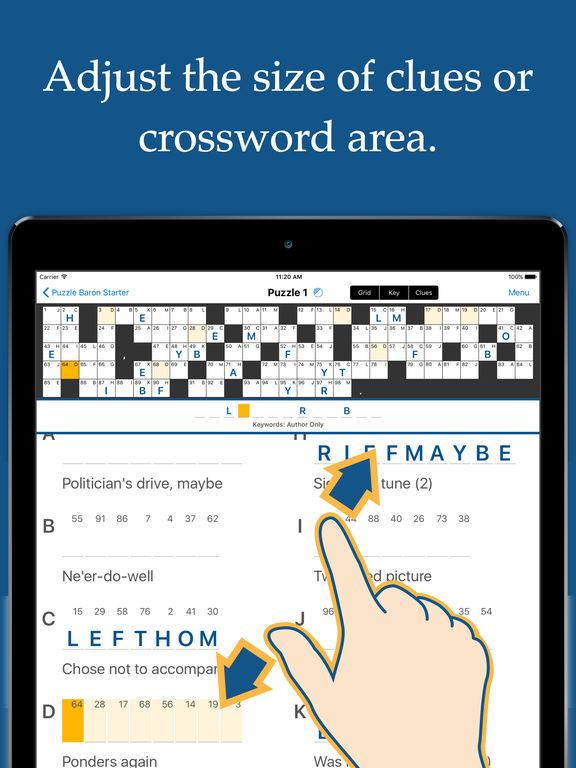 Acrostic Crossword Puzzles Screenshots