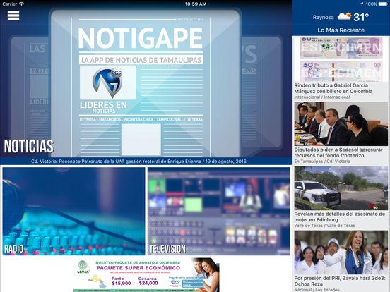 NOTIGAPE iPad Screenshot 2