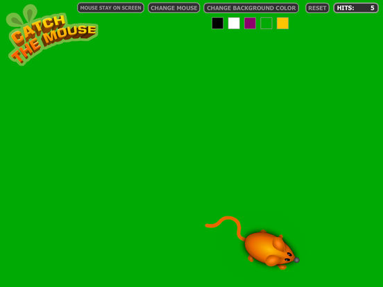 Catch The Mouse Cat Game iPad Screenshot 4