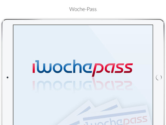 Woche-Pass iPad Screenshot 1