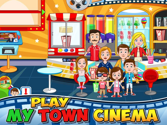 My Town : Cinema Screenshots