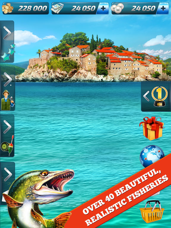 Let 39 s fish sport fishing tips cheats vidoes and for Sport fishing games