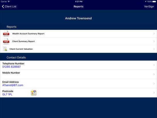 SJP Partner Online Assistant iPad Screenshot 2