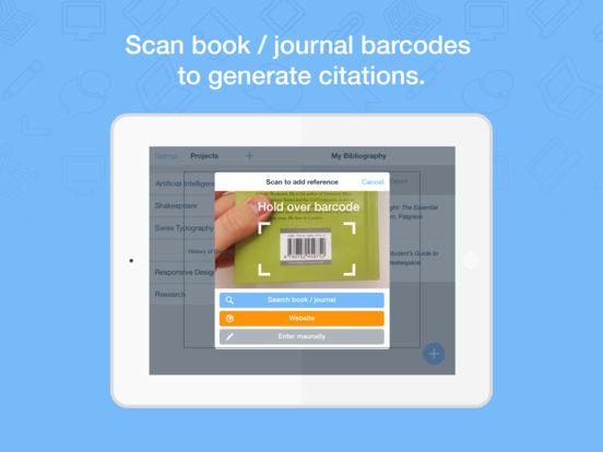 RefME - Citations Made Easy Screenshot
