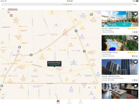 Apartments iPad Screenshot 2
