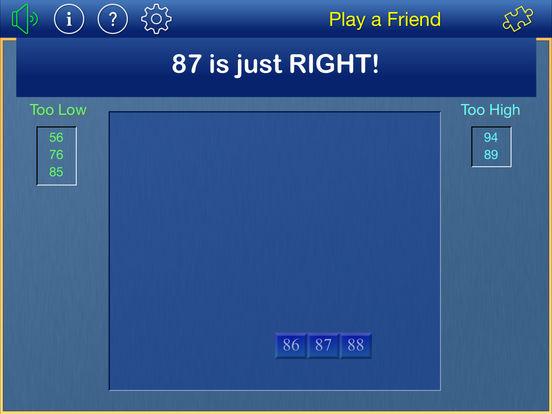 Thinking of a Number iPad Screenshot 3