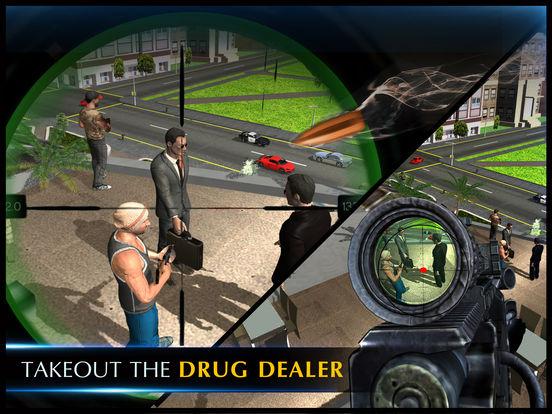 警方狙击手后卫 - 囚犯与黑帮
