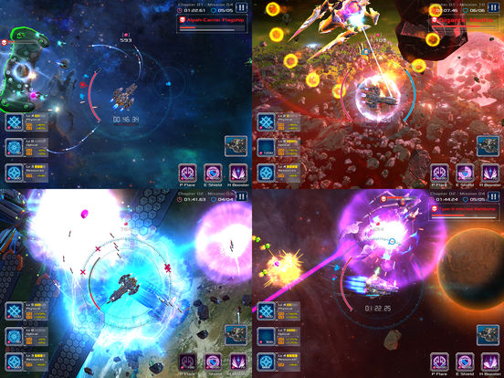 Battleship Lonewolf: Space Shooter Screenshots