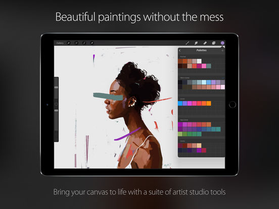 Screenshot #4 for Procreate – Sketch, paint, create.