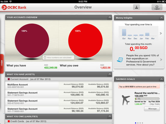 Ocbc forex account