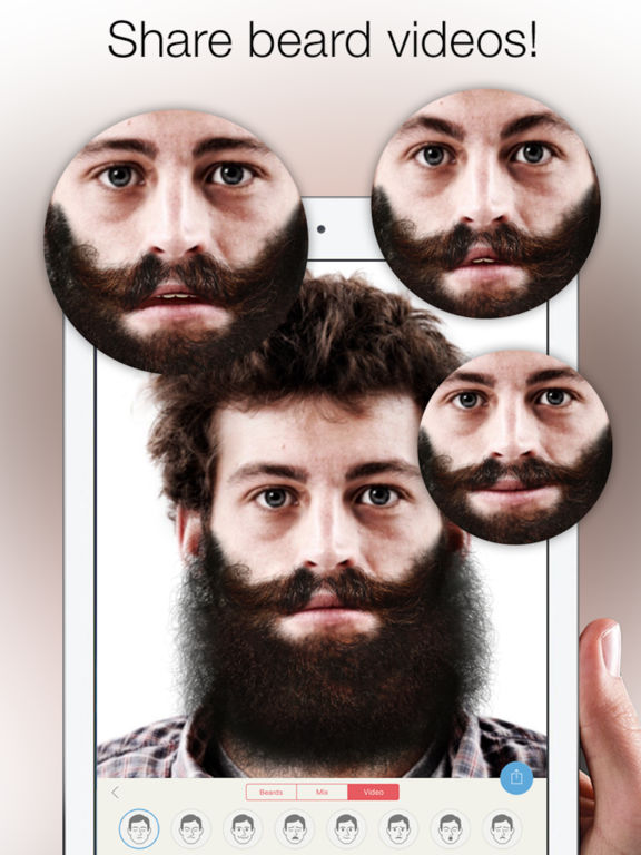 Beardify - Beard Photo Booth Screenshots