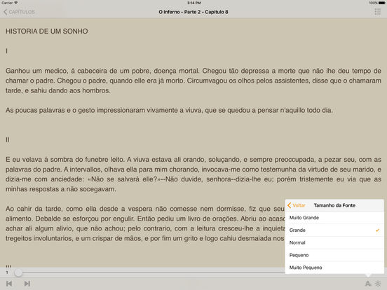O Inferno - Augusto Callet (Português) iPad Screenshot 2