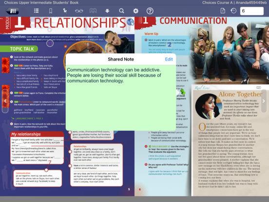 Pearson eText iPad Screenshot 4
