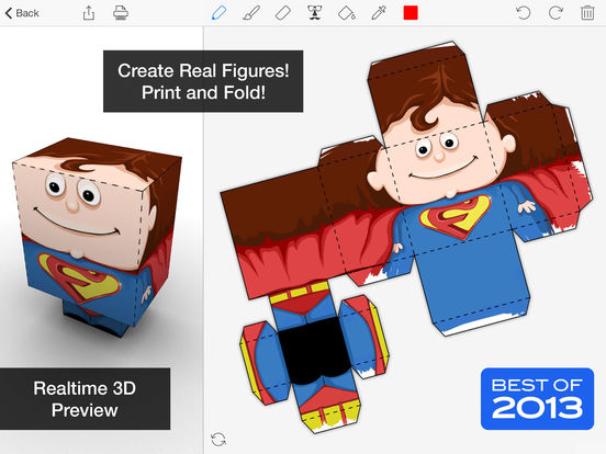 Foldify - Create, Print, Fold! Screenshots