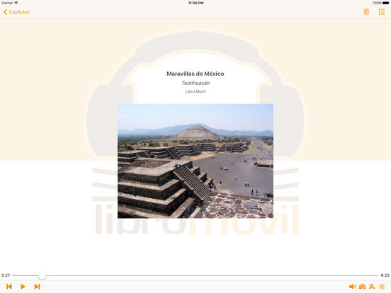 Maravillas de México - AudioEbook iPad Screenshot 1