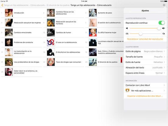 Tengo un hijo adolescente. Cómo educarlo - AudioEbook iPad Screenshot 2