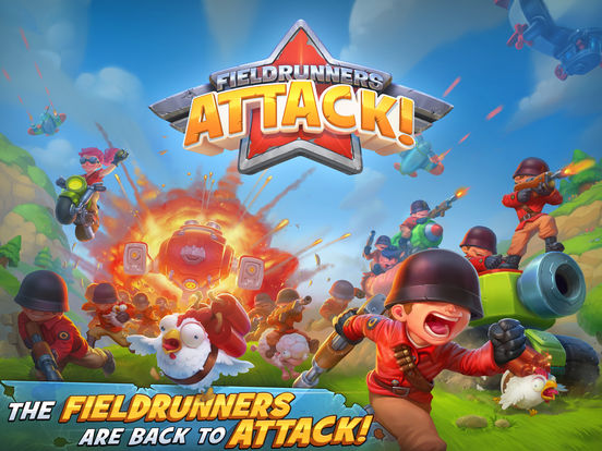 Fieldrunners Attack! Screenshots