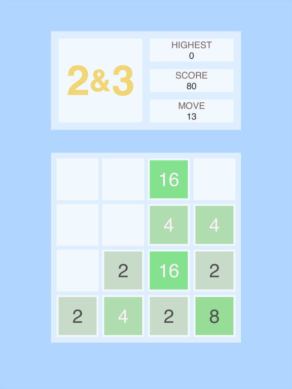Two & Three : Addictive 2048 puzzle game Screenshots