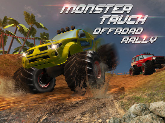 Monster Truck Offroad Rally 3D Full на iPad
