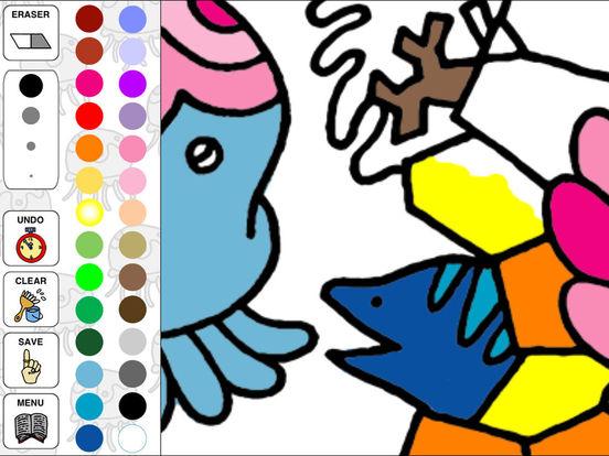 Aquarium Coloring ~Ocean Life~ iPad Screenshot 2