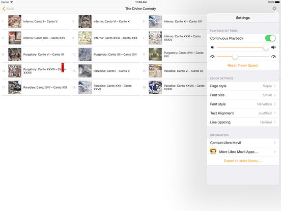 The Divine Comedy - Dante Alighieri iPad Screenshot 2