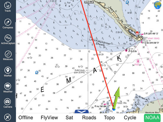 Marine: Alaska South West HD iPad Screenshot 1