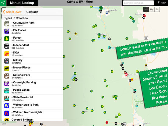 Camp & RV iPad Screenshot 5