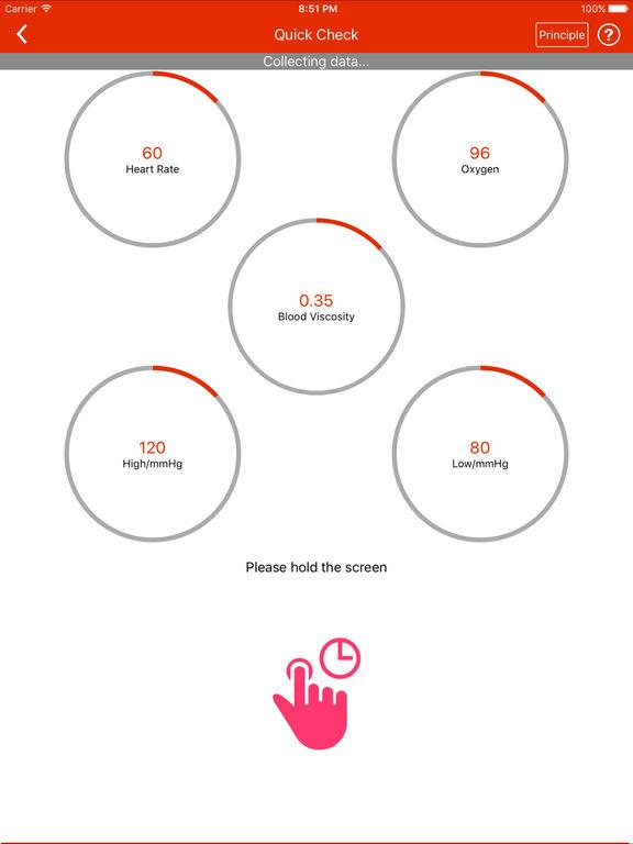 iCare Health Monitor-can measure blood pressure screenshot