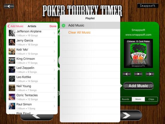 Poker Tourney Timer iPad Screenshot 4