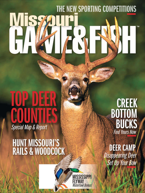 App shopper missouri game fish newsstand for Missouri game and fish