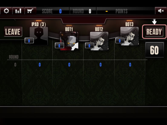 Multiplayer Big 2 iPad Screenshot 2