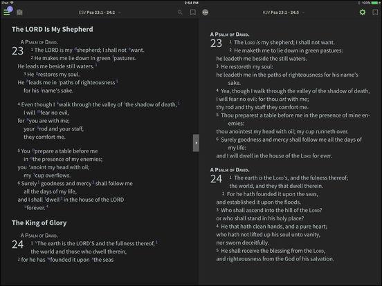 NLT Bible for BibleReader iPad Screenshot 2