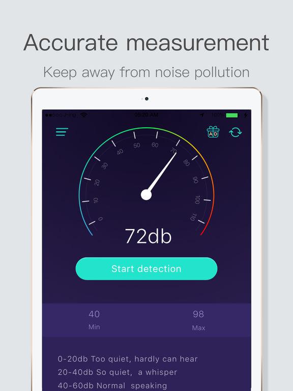 App Shopper: Decibel Meter Pro- Professional Noise Meter ...