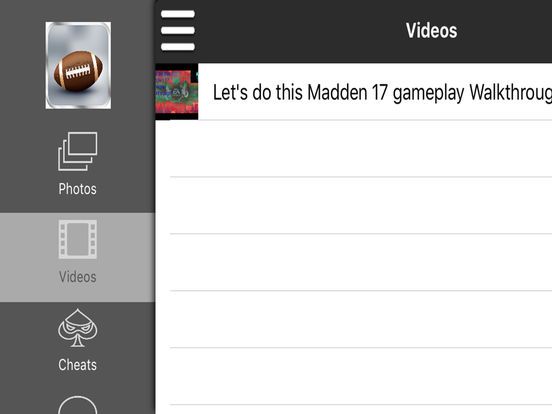 pro game madden nfl 17 version by jay lockton EA Sports Game Face EA Sports FIFA