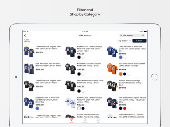Fanatics – Shop for Jerseys, Hats and Sports Gear from your Favorite Teams screenshot