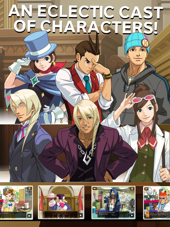 Apollo Justice Ace Attorney Screenshots
